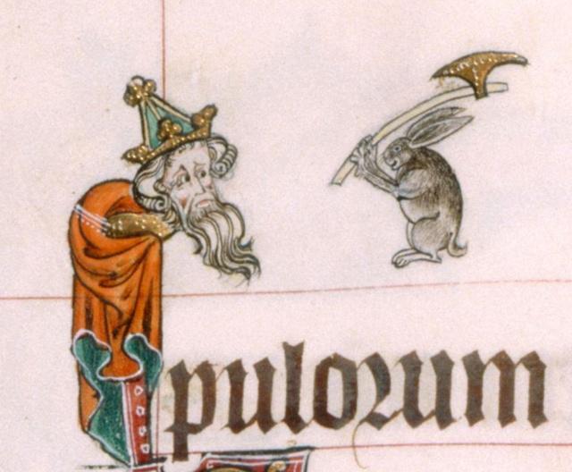 Gorleston Psalter, 14. stoljeće