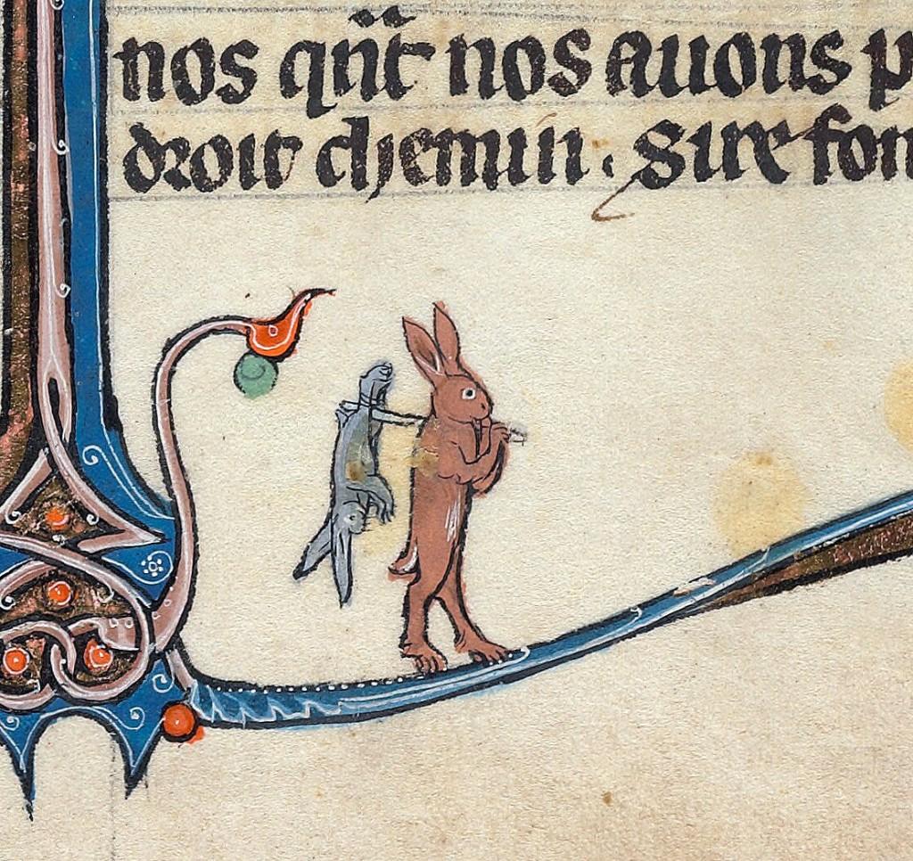 Le livre de Lancelot du Lac, sj. Francuska oko 1275-1300 (Via: http://discardingimages.tumblr.com/)