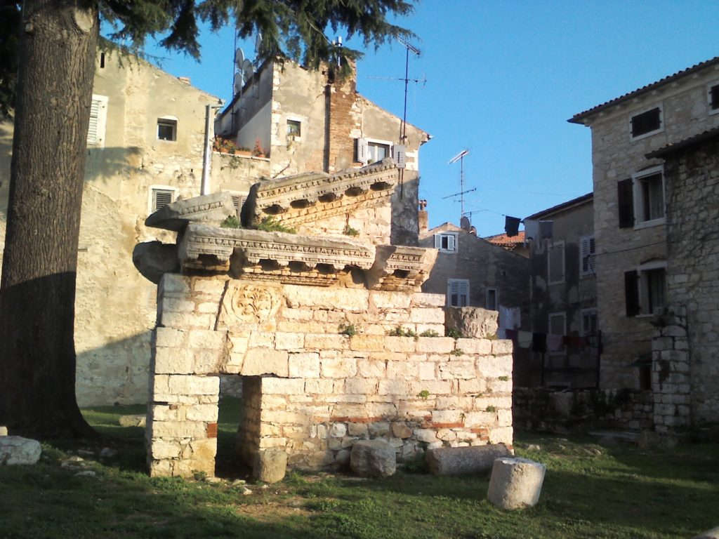 Rimski ostaci na Maraforu (vlastita fotografija)