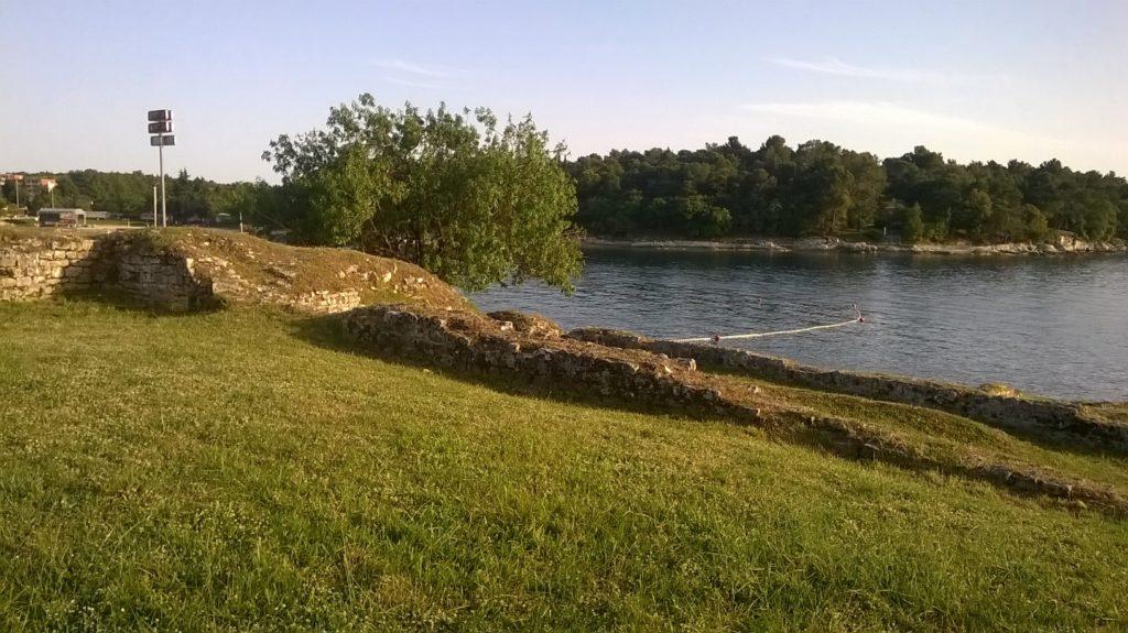 Ostaci rimske vile u Zelenoj Laguni blizu Poreča (vlastita fotografija)